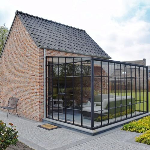 Architectuurfoto's en Exterieurfoto's van Ecohuis Houtskeletbouw - Pastorie woning te Puurs