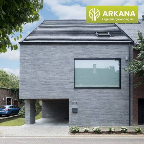 Project in de Kijker Arkana Houtskeletbouw - BEN Woning te Vilvoorde