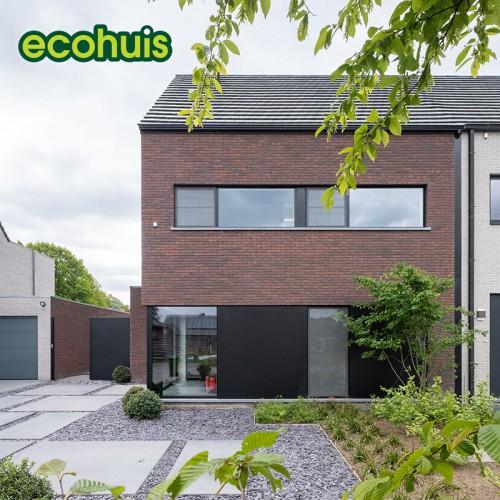 Warme en functionele gezinswoning in houtskelet - Ecohuis Houtskeletbouw