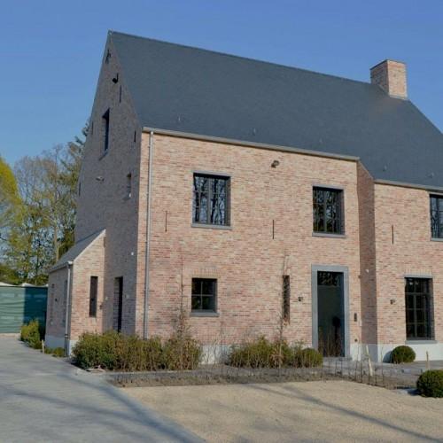 Project Ecohuis Houtskeletbouw – Buitenfoto Bijna Energieneutraal woning