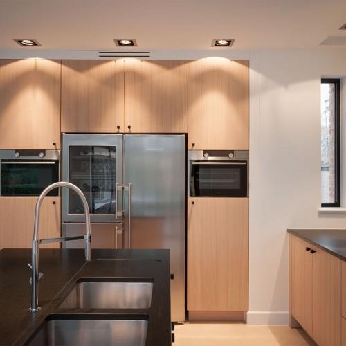 Project Ecohuis Houtskeletbouw – Interieurfoto Bijna Energieneutraal woning