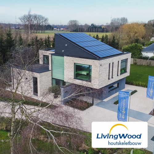 Kijkwoning Livingwood - Nieuwe Steenweg te Temse