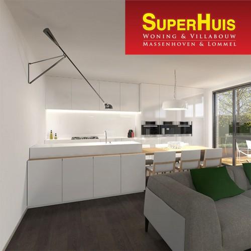 Nieuwbouwproject Borsbeek - 10 Appartementen van Superhuis
