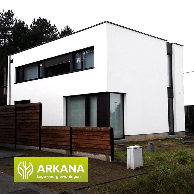 Laatjebouwen arkana project in de kijker nul energie for Tekenprogramma bouw