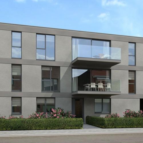 Visualisaties nieuwbouwproject van Superhuis te Borsbeek