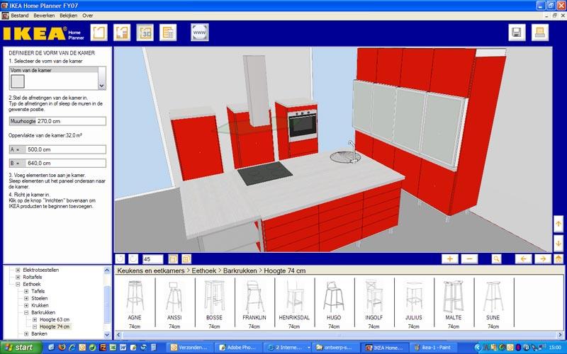Ikea Keukenplanner : Screenshot Ikea Keukenplanner
