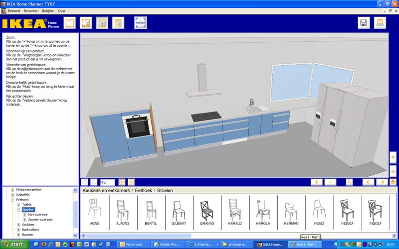 Laatjebouwen ikea planner en keukenplanner for 3d interieur ontwerpen gratis