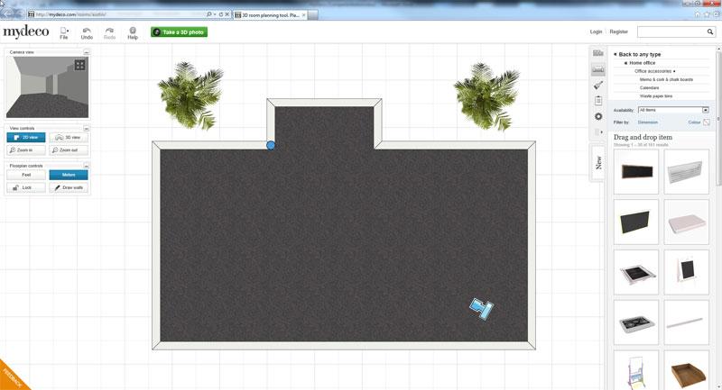 Laatjebouwen tekenprogramma en tekensoftware for My deco 3d planner