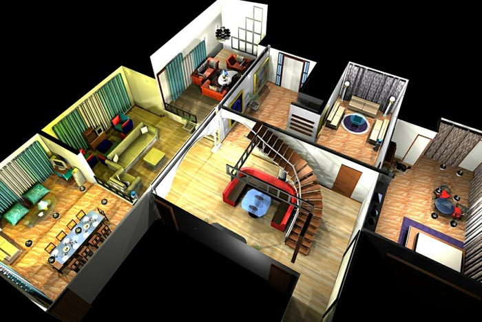 Sketchup huis tekenen for Tekenprogramma woonkamer