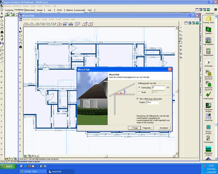 Laatjebouwen super architect 3d nexgen tekenprogramma 3d architect software free download