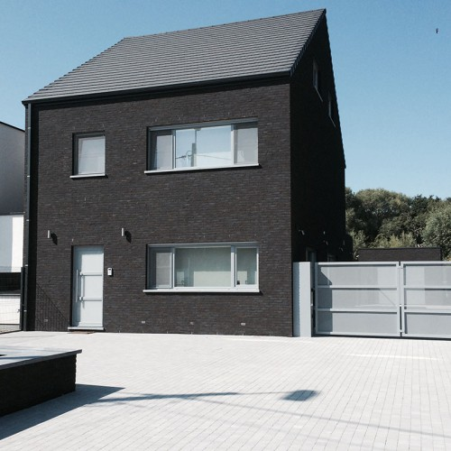 Ecohuis Houtskeletbouw - Voordeel van houtskeletbouw is dat er geen architecturale beperkingen zijn