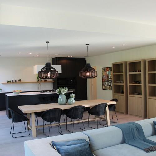 Livingwood Bouwbedrijven – Kijkwoning in houtskeletbouw te Temse