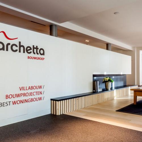 Toonzaal thuisbest woningbouw en marchetta-bouwgroep