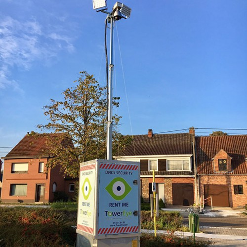 Towereye - mobiele camera beveiliging op Werven en Events