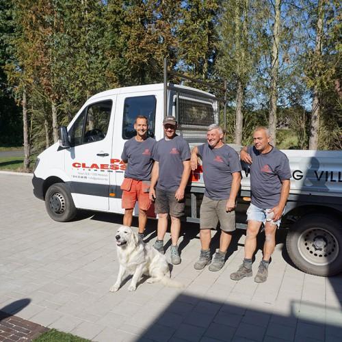 Woningbouw Paul Claessen - Het bouwteam van het familiebedrijf