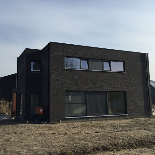 Woningbouw Paul Claessen - realisatie van sleutel op de deur bouw
