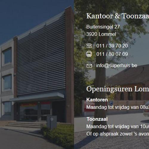 Woningbouw en Villabouw Superhuis - Contactgegevens