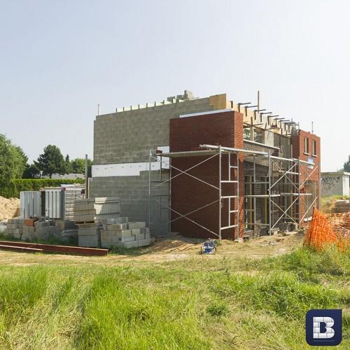 Woningen Blavier - Diverse bouwstijlen in sleutel op de deur bouw