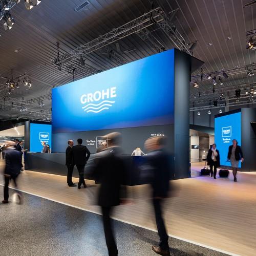 Grohe won Iconic awards voor om. het Blue Home tap drinkwatersysteem, de GROHE Concetto Professional keukenkraan en de Euphoria 260 douchekraan