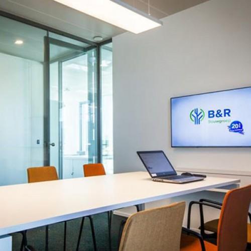 B&R bouwgroep opent ben bedrijfsgebouw te arendonk
