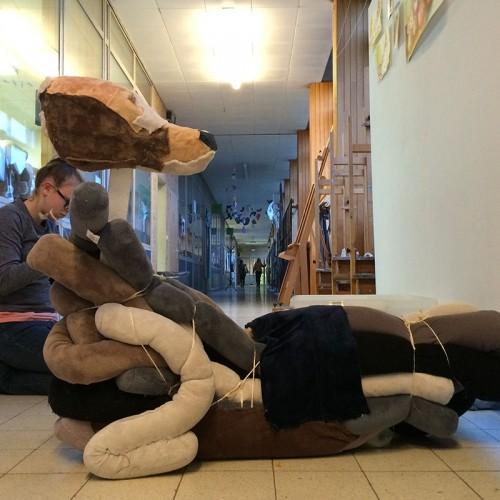 Tochthonden worden een kunstwerk – Hörmann voordeur onderaan winddicht met lage drempel