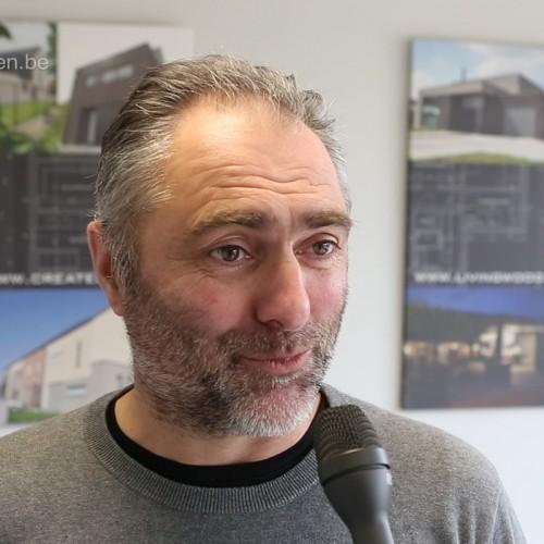 Interview Johan Cleynen - Zaakvoerder Livingwood houtskeletbouw