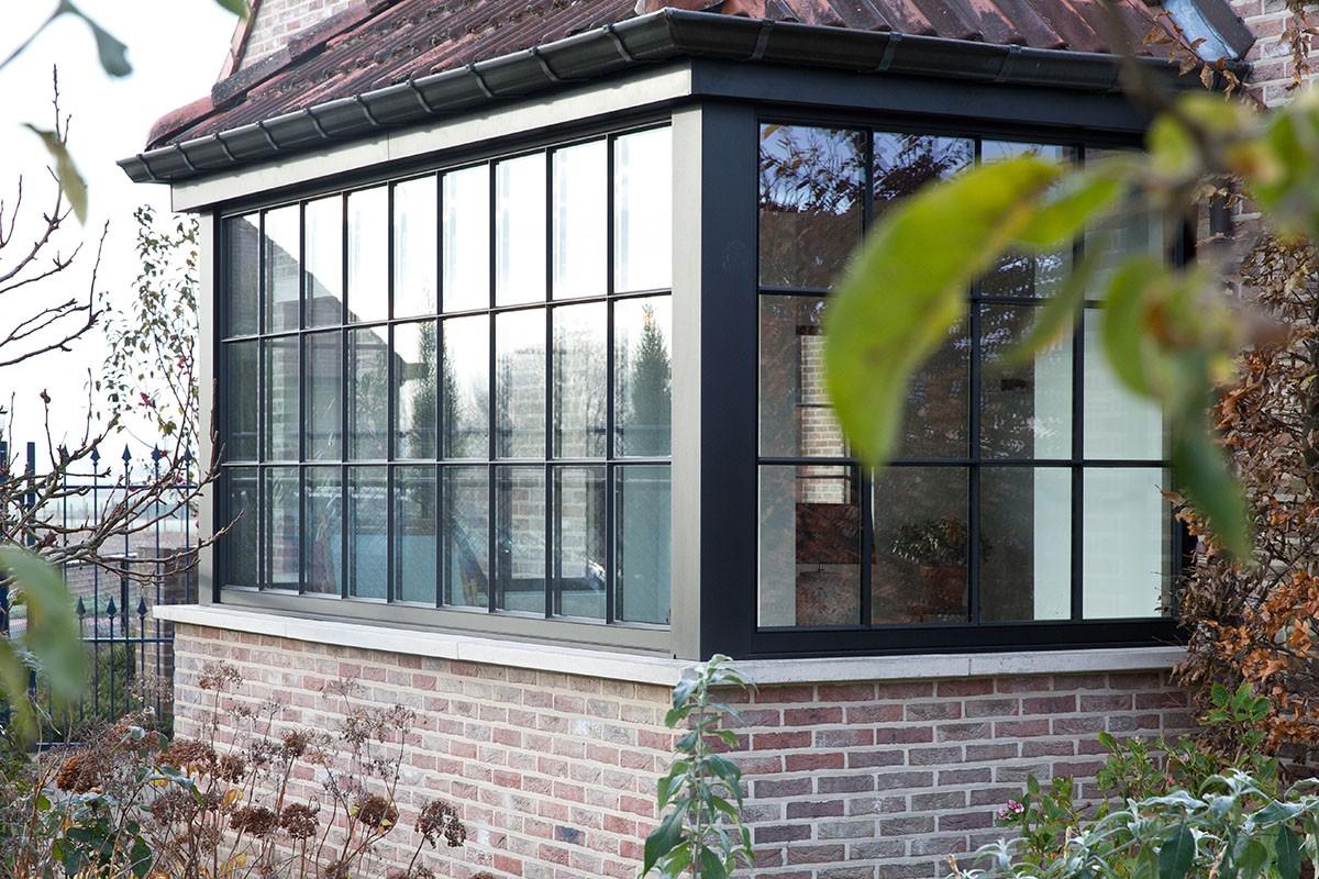 Profel Stratolo een rank aluminium retroraam – kopie van een stalen raam