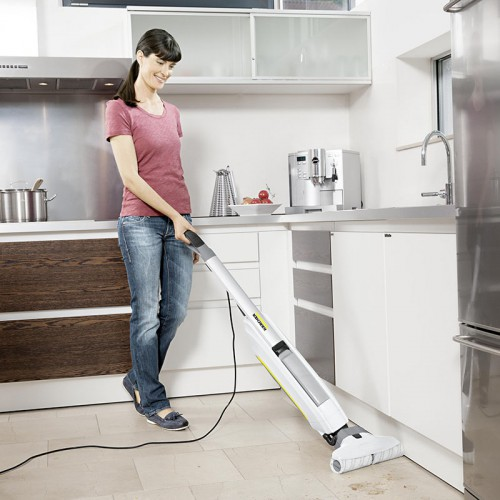 Met deze 4 tips van Kärcher kan u in perfecte harmonie met je partner uw interieur schoonmaken