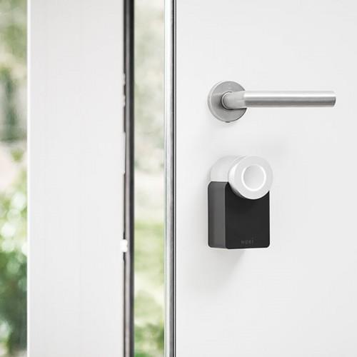 Eenvoudig toegangsbeer tot je woning via het intelligent deurslot Nuki smart lock