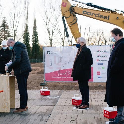 UAntwerpen en consortium IMM/Unity gaven startschot bouw Vaccinopolis