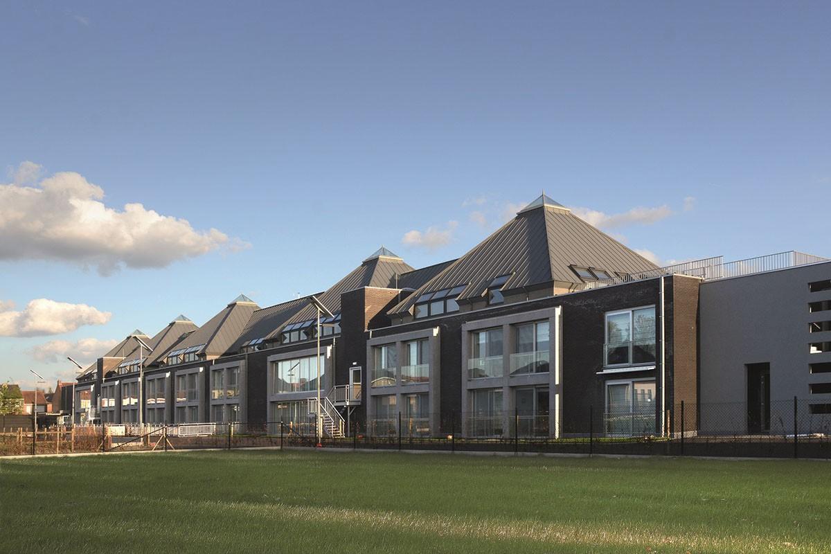 De dakbekleding en gevelbekleding in zink van VM Zinc is bekroond voor ecologische duurzaamheid