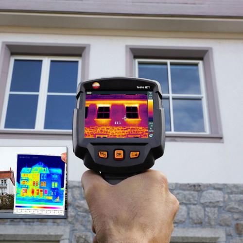 De warmtebeeldcamera voor een grondige energiediagnose door Total Energy Solutions