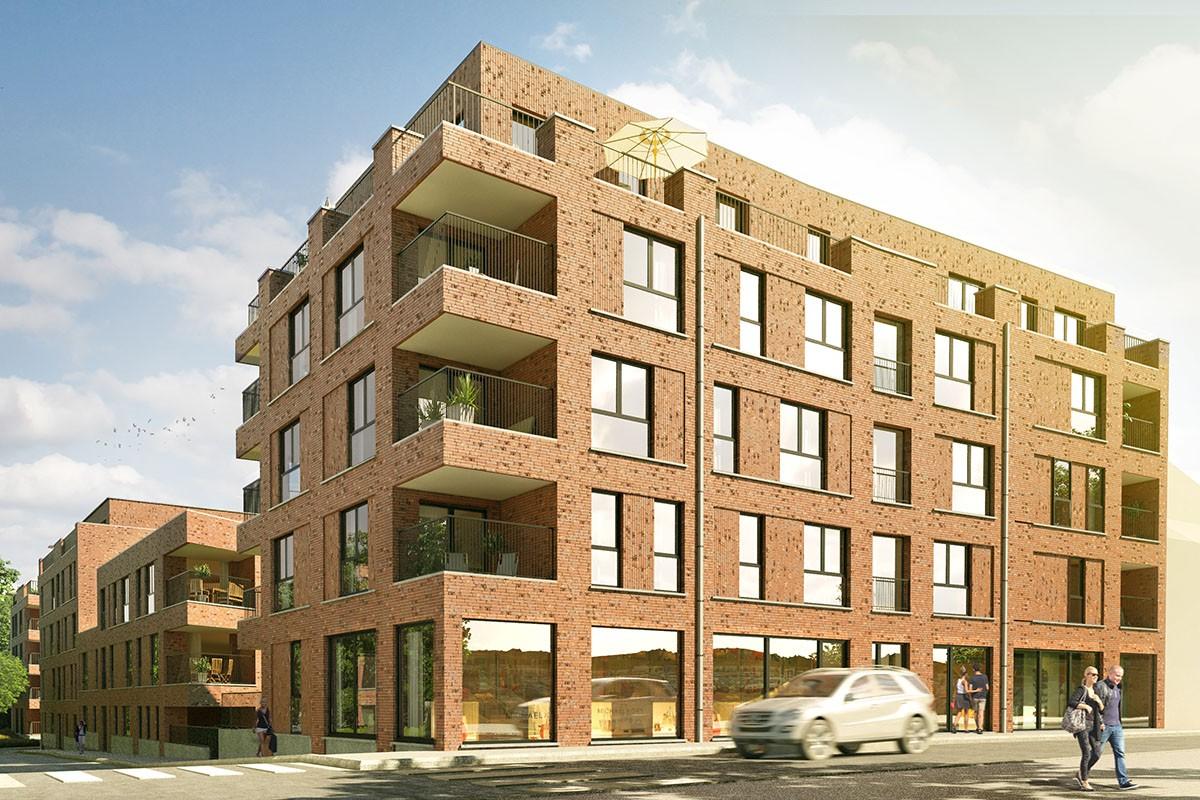 Woonproject De Blekerij in Diest - appartementen, handelspanden, wooneenheden