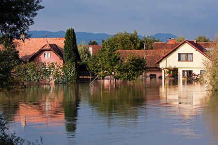 Beperken van bebouwing in overstromingsgevoelige gebieden