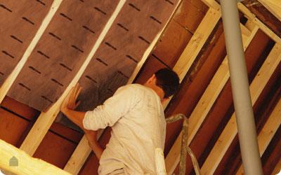 Dakisolatie Knauf insulation met ecose technology