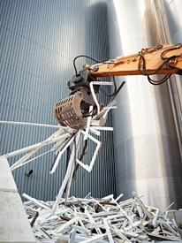 Recyclagefabriek raamsystemen en bouwproducten deceuninck