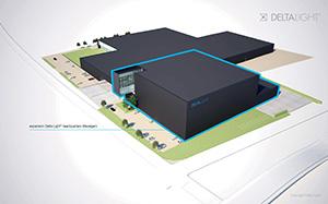 Delta Light architecturale verlichting - Nieuwe bedrijfsgebouwen