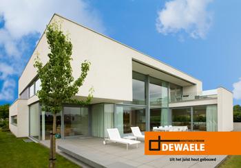 Dewaele Houtskeletbouw - Nieuwe kijkwoning in Werchter