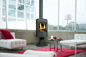 Dovre ASTRO4gas gaskachel voor gasverwarming
