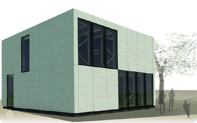 E Cube Gent - Solar Decathlon