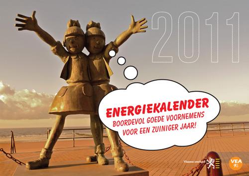 Gratis Energiekalender 2011 - Vlaams Energieagentschap