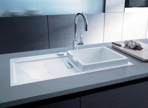 Facq - Philippe Starck ontwerpt keukenspoelbak