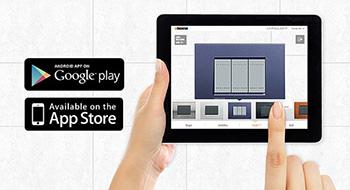 Kiezen uit het Gamma van BTicino via een gratis App voor Android en IOS