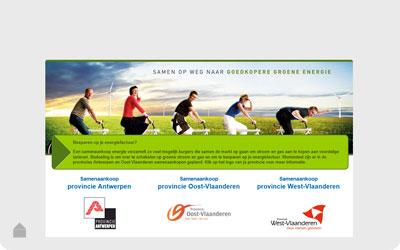 Groepsaankoop provincie Antwerpen Groene stroom en gas