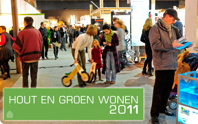 Hout en Groen Wonen 2011 - Waagnatie aan de Rijnkaai te Antwerpen