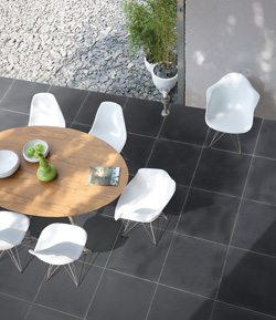 Marlux Terrastegels Polyton met strakke betonlook