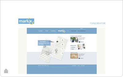 De Marlux online tuincreator - De interactieve tool voor je tuinplan
