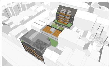 Nieuwbouwproject Zuiders Dok op Antwerpse Zuid