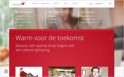 Nieuwe website Informazout
