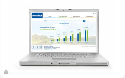 online energiecalculator - Hoogrendementsglas en thermische raamprofielen